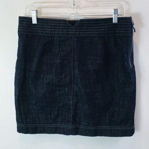 Brooklyn Industries Skirt Denim Jean Dark Wash 6